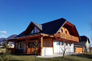 Stanovanjska hiša Hlebce, Radovljica, 2015