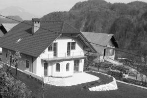 Stanovanjska hiša, Bohinjska Bela